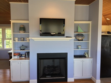 Truro Cape Cod vacation rental - Gas Fireplace