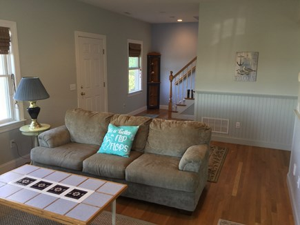 Truro Cape Cod vacation rental - Lower level queen sofa bed