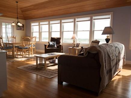 Truro Cape Cod vacation rental - 2nd floor great room overlooking Cape Cod Bay