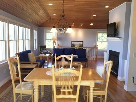 Truro Cape Cod vacation rental - Dining and Great Room