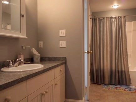 Truro Cape Cod vacation rental - Lower level full bath