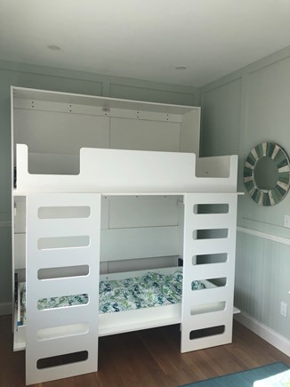 Truro Cape Cod vacation rental - Murphy Bunk Bed Open