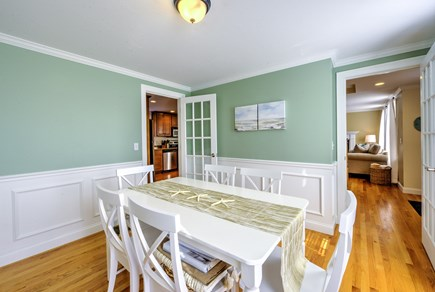 East Sandwich Cape Cod vacation rental - Dining Room