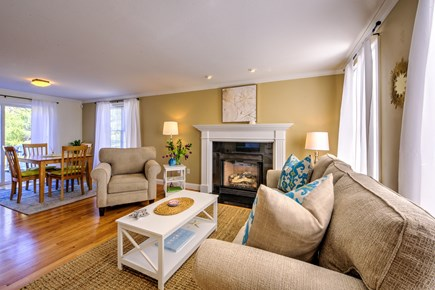 East Sandwich Cape Cod vacation rental - Living Room/Dining