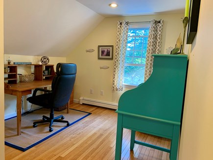 Brewster Cape Cod vacation rental - Loft area with air printer available