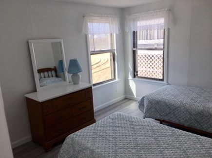 West Dennis Cape Cod vacation rental - One of the 2 Twin bedrooms with 2 windows.
