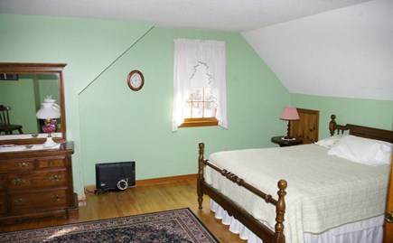 Eastham Cape Cod vacation rental - Queen bedroom upstairs with bath