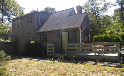Eastham Cape Cod vacation rental - Backyard and deck