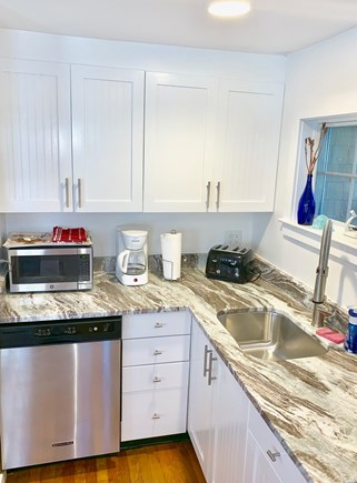 Provincetown Cape Cod vacation rental - Updated kitchen with dishwasher.  Not Shown: large pantry cabinet