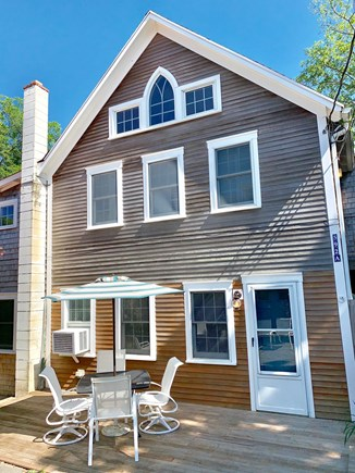 Provincetown Cape Cod vacation rental - One of the outside dining areas