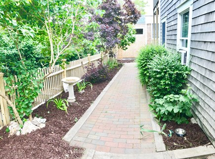 Provincetown Cape Cod vacation rental - Gardens and surrounding exterior areas - side