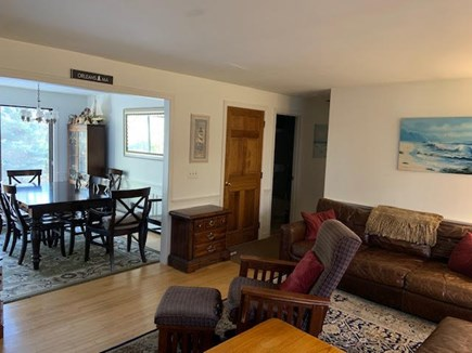 Orleans Cape Cod vacation rental - Open concept between dining and living rooms