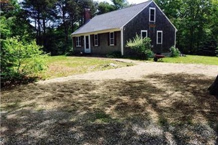 Orleans Cape Cod vacation rental - Home is laid out on a great piece of land.