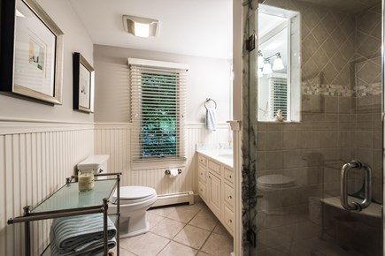 North Chatham Cape Cod vacation rental - Master bath, one of 3.5 baths in the house.