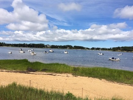 North Chatham Cape Cod vacation rental - Private association beach on Crow's Pond is just steps from house