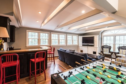 North Chatham Cape Cod vacation rental - Game room over garage