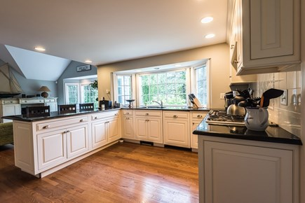 North Chatham Cape Cod vacation rental - Fully equipped, cheery kitchen.