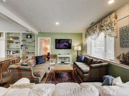 North Chatham Cape Cod vacation rental - One of two big TV lounge areas