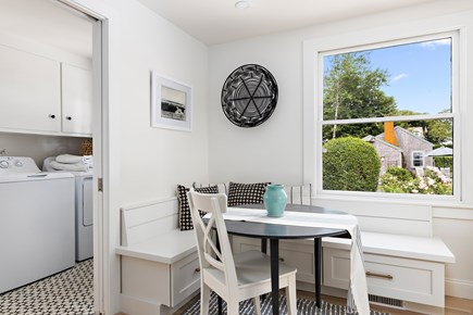 Chatham Cape Cod vacation rental - Cozy breakfast nook in the kitchen.