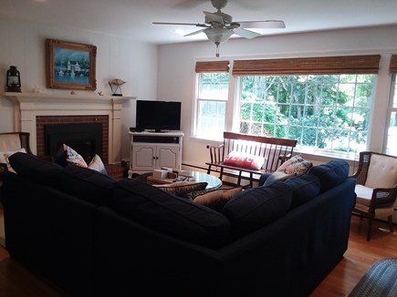 Dennis Cape Cod vacation rental - Living room with plenty of seating