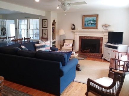 Dennis Cape Cod vacation rental - Bright sunny living room