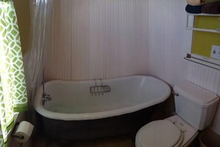 Truro Cape Cod vacation rental - Claw foot tub first floor bath