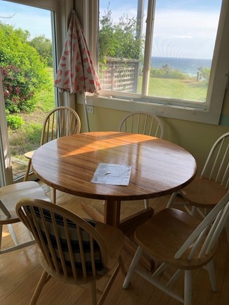 Truro Cape Cod vacation rental - Kitchen view