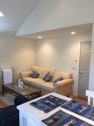 Brewster Cape Cod vacation rental - Living room area with large closet