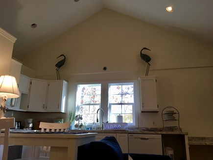 Brewster Cape Cod vacation rental - Lofted ceilings