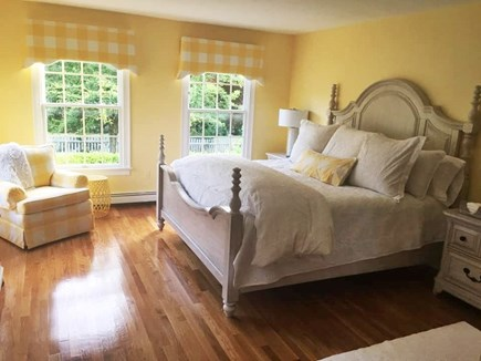 North Chatham Cape Cod vacation rental - First floor master BR with king bed and full bath