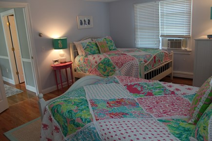 North Chatham Cape Cod vacation rental - Girls room with queen and full beds
