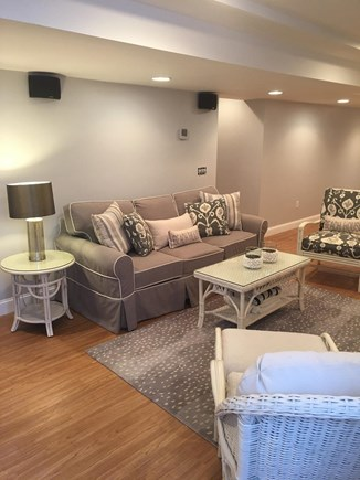 North Chatham Cape Cod vacation rental - Finished basement with full bath, home theatre and bar