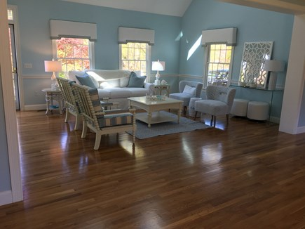 North Chatham Cape Cod vacation rental - Living room, open to brand new kitchen
