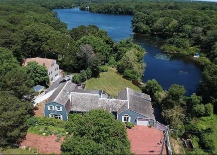South Yarmouth Cape Cod vacation rental - Waterfront home on Long Pond. Direct pond access from yard.
