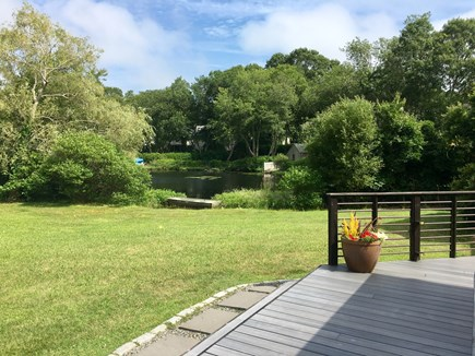 South Yarmouth Cape Cod vacation rental - Pond views throughout the home.