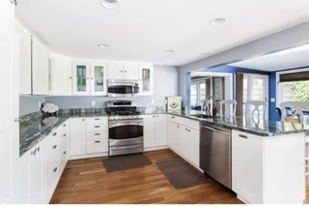 South Yarmouth Cape Cod vacation rental - Updated kitchen (main house)