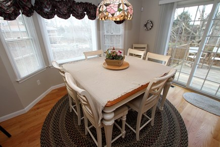 Brewster Cape Cod vacation rental - Dining Area with sliders to the deck