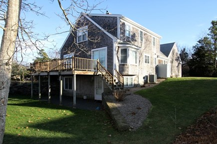 Brewster Cape Cod vacation rental - Exterior Side View and deck