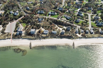 Brewster Cape Cod vacation rental - Aerial View