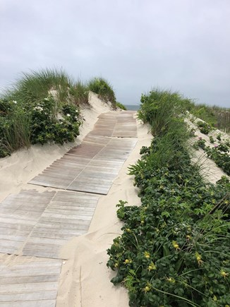 West Dennis Cape Cod vacation rental - Walkway to private beach
