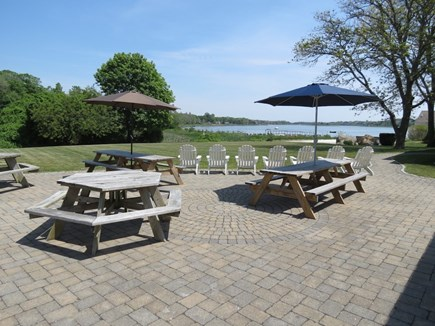 Eastham Cape Cod vacation rental - Superb outdoor living space, always with the water view