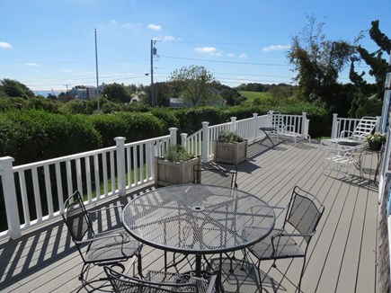 Chatham Cape Cod vacation rental - One of three decks, this one looking out toward Chatham Harbor