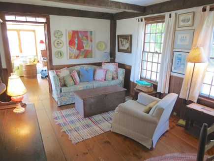 Chatham Cape Cod vacation rental - One of several lounge areas in the two homes