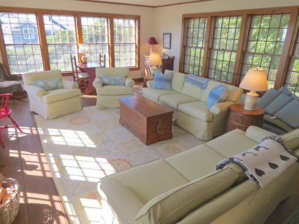 Chatham Cape Cod vacation rental - Main house, principal lounge area