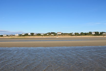 Eastham Cape Cod vacation rental - Bayside association beach at low tide
