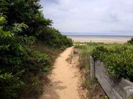 Eastham Cape Cod vacation rental - Path to association beach