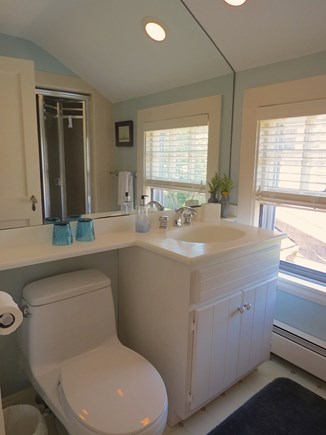 Harwich Port Cape Cod vacation rental - This master bath is one of threefull baths at the property