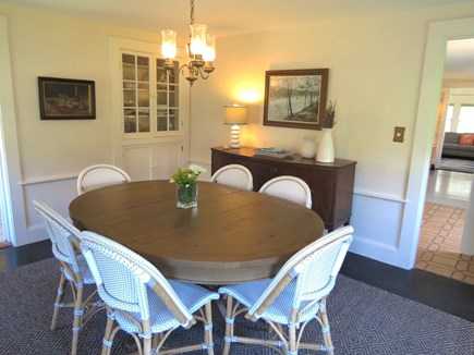 Harwich Port Cape Cod vacation rental - Dining room when you don't dine outside on the patio