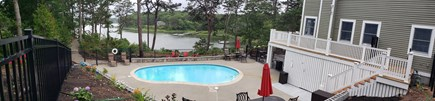 New Seabury area Cape Cod vacation rental - Pool side view
