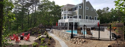 New Seabury area Cape Cod vacation rental - Back side of house